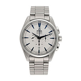 Omega Seamaster Broad Arrow Chronograph 2812 41mm Mens Watch