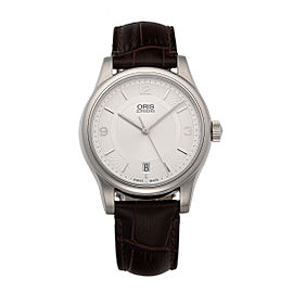Oris Classic Date 733-7578-4031LS 37mm Mens Watch