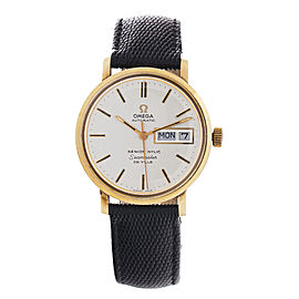 Omega 1970's Seamaster DeVille Automatic 34mm Watch