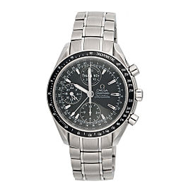 Omega Speedmaster 3220.5 Date Day Stainless Steel Automatic 40mm Mens Watch