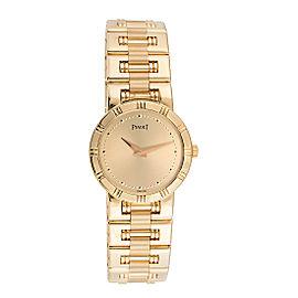 Piaget Dancer 80563 18K Yellow Gold Quartz Womens Watch