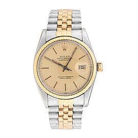 Rolex Datejust 16013 Two Tone Mens Watch