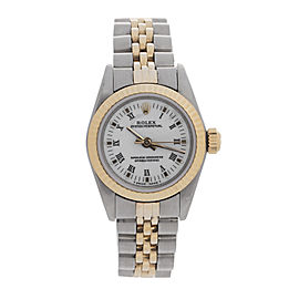 Rolex Two Tone Datejust Ladies 67193 Watch