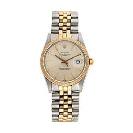 Rolex Date 15053 34mm Unisex Watch