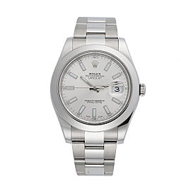 Rolex Datejust II 116300 41mm Mens Watch