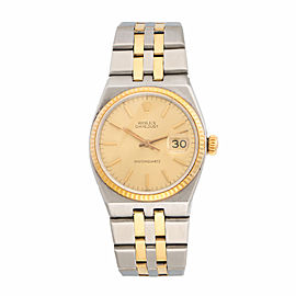 Rolex Oyster Quartz 17013 18K Yellow Gold and Stainless Steel 36mm Unisex Watch