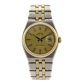 Rolex Two-Tone Oyster Quartz DateJust Ref#17013
