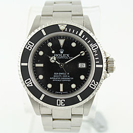 Rolex Sea-Dweller 16600 40mm Y Series Stainless Steel Watch