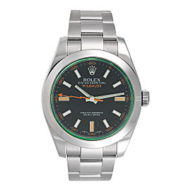 Rolex Milgauss 116400V Stainless Steel 40mm Mens Watch