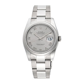 Rolex Datejust 116200RRO Stainless Steel Rolex Oyster Automatic 36mm Mens Watch