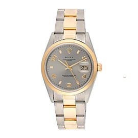 Rolex 15203 18K Yellow Gold & Stainless Steel Automatic 34mm Womens Watch