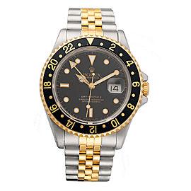 Rolex GMT Master II 16713 40mm Mens Watch Black