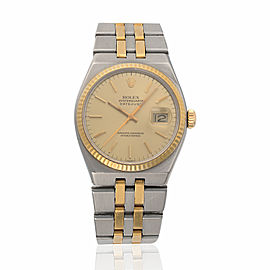 Rolex Oysterquartz Datejust 17013 36mm Mens Watch
