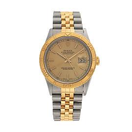 Rolex Datejust 16233 37mm Mens Watch