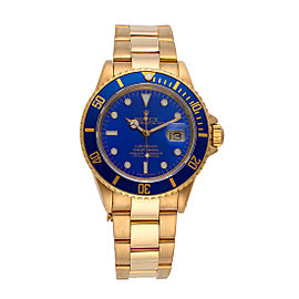 Rolex Submariner 16618 40mm Mens Watch