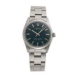 Rolex Oyster Perpetual 1002 Stainless Steel 34mm Unisex Watch