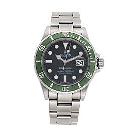 Rolex 50th Anniversary Submariner 16610LV 40mm Mens Watch