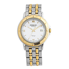 Raymond Weil Tango 5560 Stainless Steel and Yellow-Tone PVD Quartz 39mm Watch