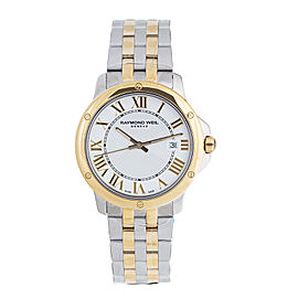 Raymold Weil Tango 5591-STP-00308 Two Tone Mens 39mm Watch
