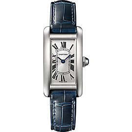 Cartier Tank Americaine WSTA0016 19mm Womens Watch