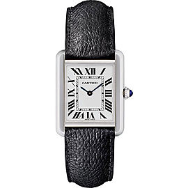 Cartier Tank Solo WSTA0030 Stainless Steel 31mm Quartz Women Watch
