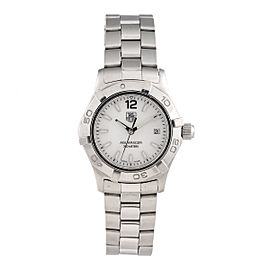 Tag Heuer Aquaracer WAF1414 Stainless Steel 27mm Womens Watch