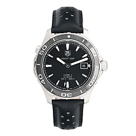 Tag Heuer Aquaracer WAK2110.FT6027 Swiss Automatic Black 41mm Mens Watch