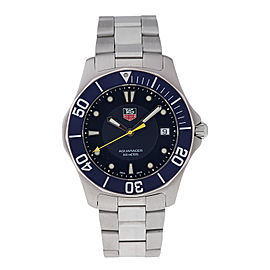 Tag Heuer Aquaracer WAB1112 Stainless Steel Blue Dial 41mm Watch