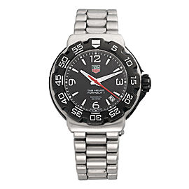 Tag Heuer Formula 1 Professional WAH1110 Stainless Steel 42mm Mens Watch
