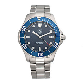 Tag Heuer Aquaracer WAB2011 Stainless Steel with Blue Dial 41mm Mens Watch