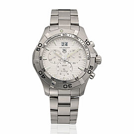 Tag Heuer Aquaracer Chronograph CAF101F.BA0821 43mm Mens Watch
