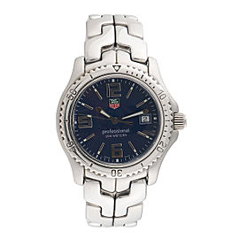 Tag Heuer Link WT1113 Stainless Steel & Blue Dial 44mm Mens Watch