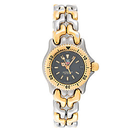 Tag Heuer S/el S95.208 Date Two-Tone Quartz 24mm Women Watch