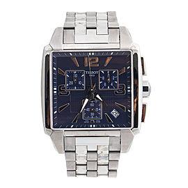 Tissot T0055171104700 T-Trend Quadrato Stainless Steel 40mm Watch