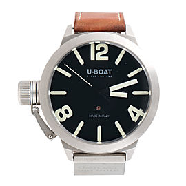 U-Boat Classico 316-L Stainless Steel Swiss-Automatic 51mm Mens Watch