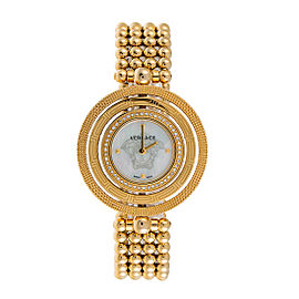 Versace VQT080015 Eon Analog Display Quartz 39mm Womens Watch