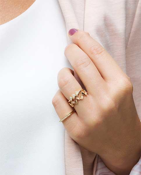 Dana Rebecca Designs' Stackable Rings