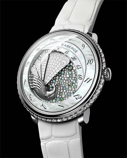 The Fabergé Lady Compliquée Peacock