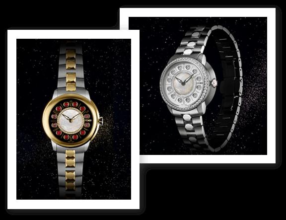Fendi Timepieces Crazy Carats Collection