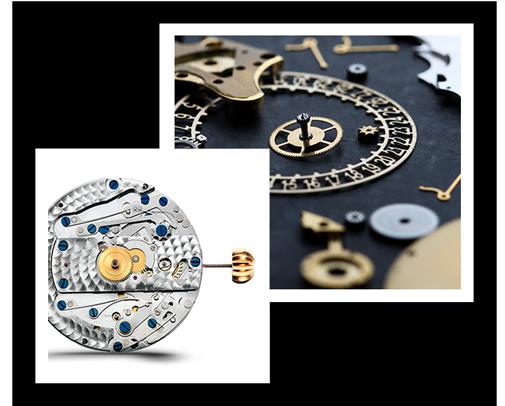 The Components of a Frédérique Constant Watch