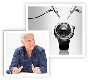 Vincent Perriard of HYT Watches