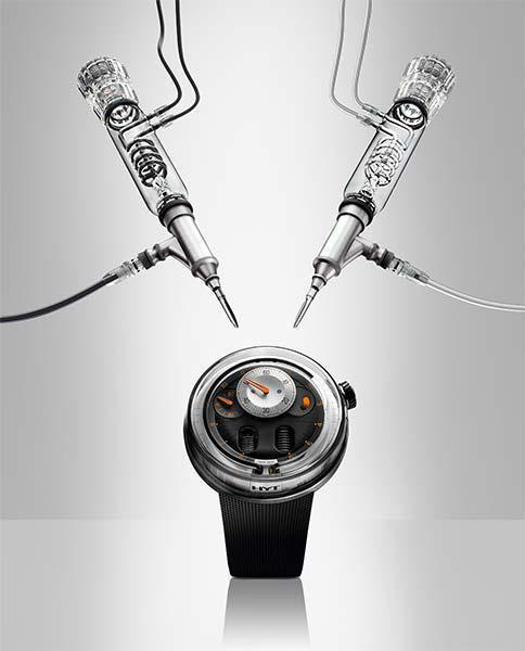HYT'S Hydro-Mechanical Watch Technology