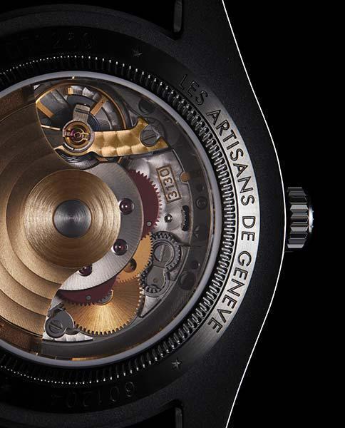 Les Artisans de Genève's Signature 22-Carat Gold Rotor