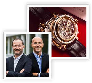 Alexis Gouten and David Gouten of Manufacture Royale