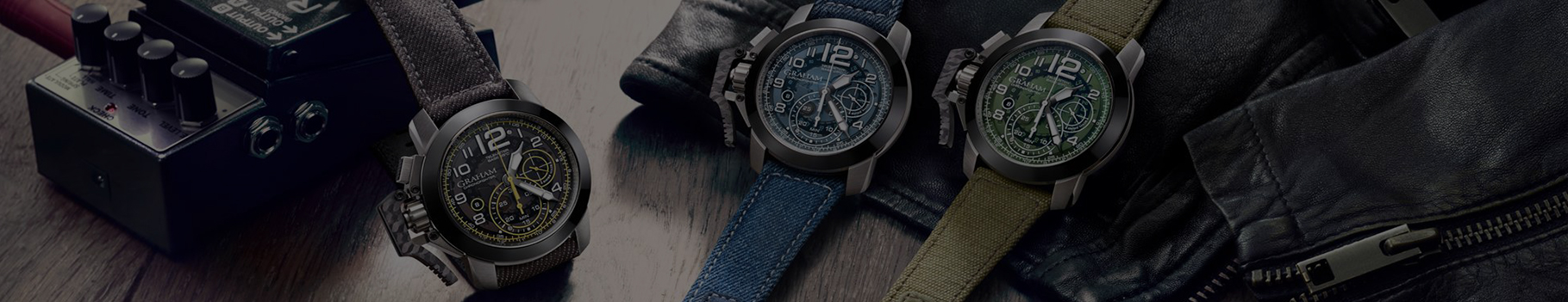Graham Chronofighter Watches