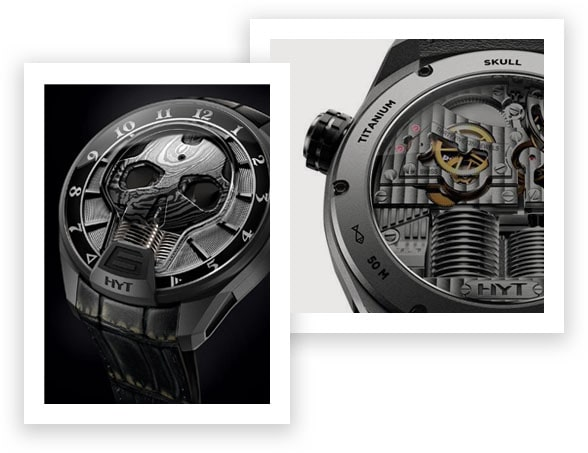 HYT Skull BadBoy Watch Dial and Caseback