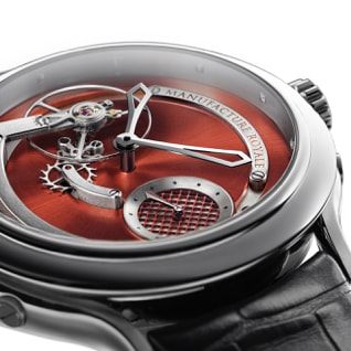 Detail of Manufacture Royale Voltige Watch