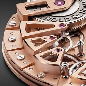 Exclusive Arnold & Son A&S8600 Movement