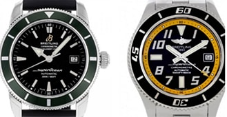 History of the Breitling Superocean
